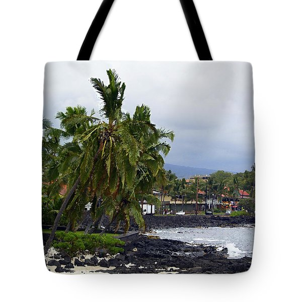 Downtown Kona Tote Bag by Athala Carole Bruckner