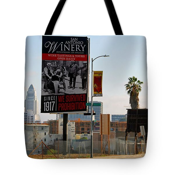 @downtown Los Angeles Tote Bag