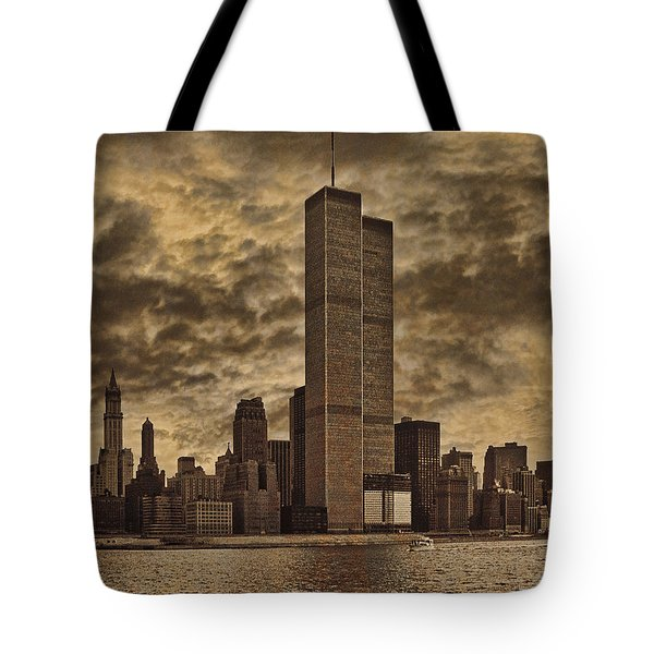 Downtown Manhattan Circa Nineteen Seventy Nine  Tote Bag