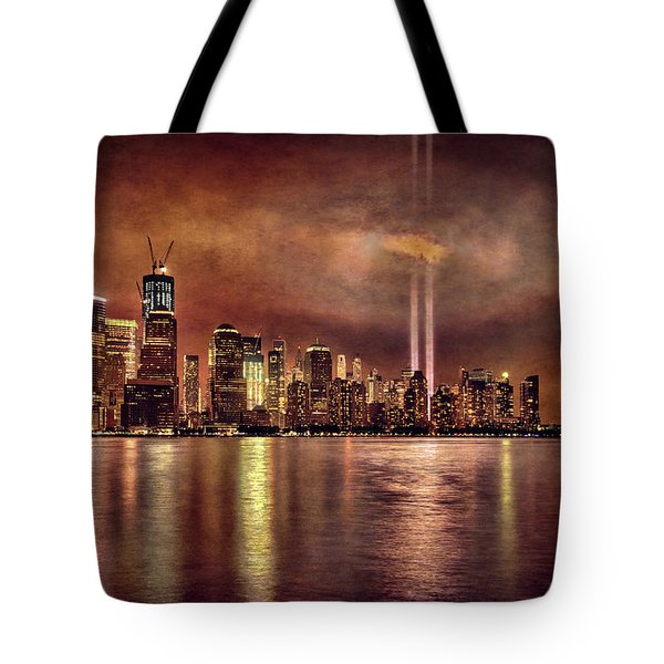 Downtown Manhattan September Eleventh Tote Bag