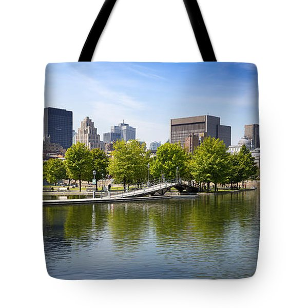 Downtown Montreal In Summer Tote Bag