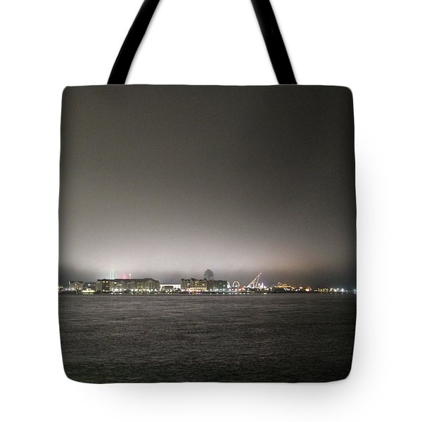 Downtown Oc Skyline Tote Bag