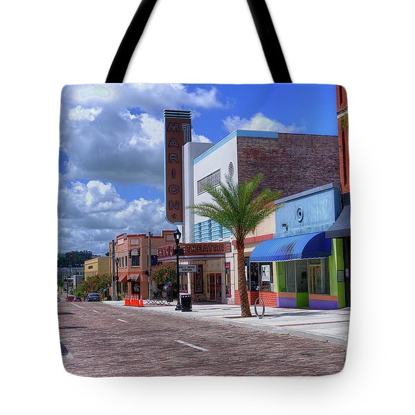 Downtown Ocala Theatre Tote Bag