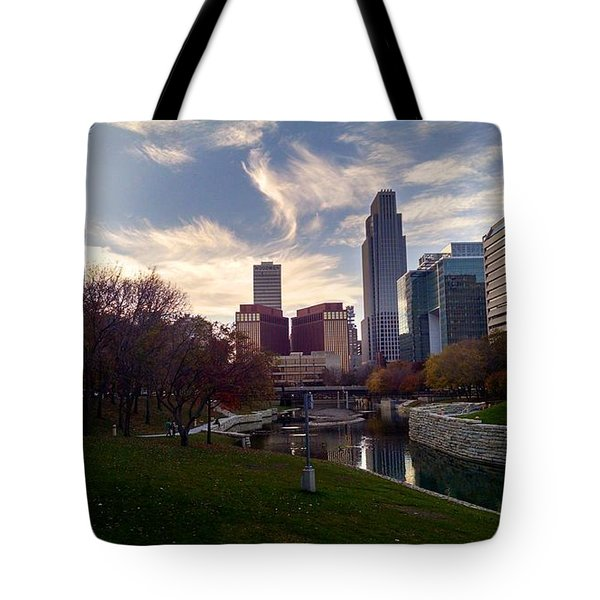 Downtown Omaha Tote Bag
