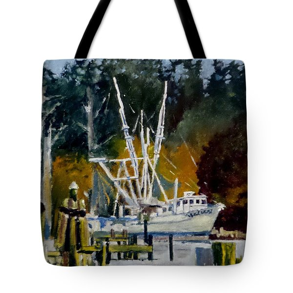 Downtown Parking Tote Bag