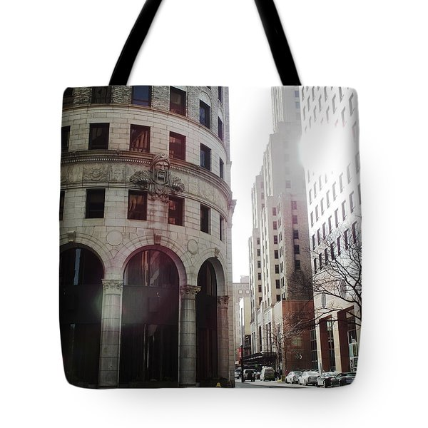 Downtown Providence Tote Bag