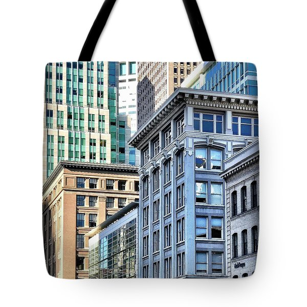 Downtown San Francisco Tote Bag by Julie Gebhardt