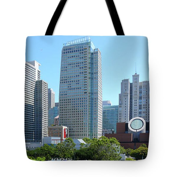 Tote Bag featuring the photograph Downtown San Fransisco by Mike McGlothlen