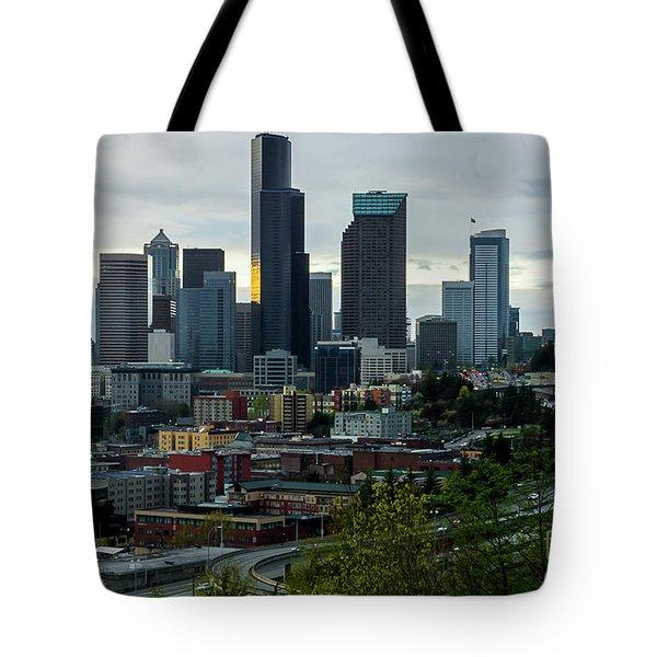 Downtown Seattle,washington Tote Bag