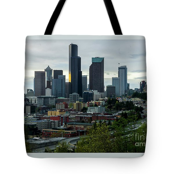 Downtown Seattle,washington Tote Bag