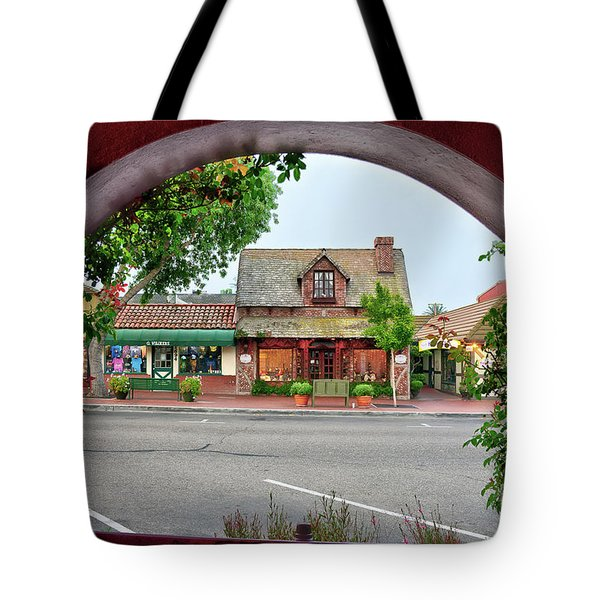 Downtown Solvang Tote Bag