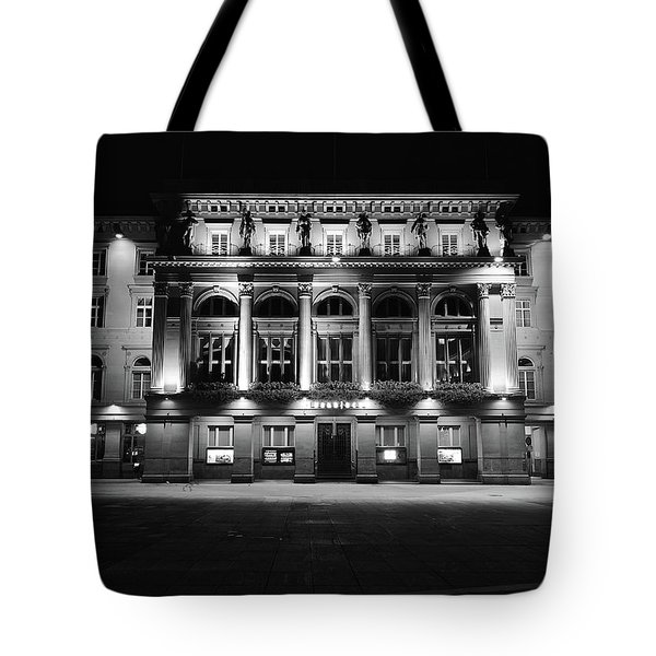 Downtown Square Tote Bag