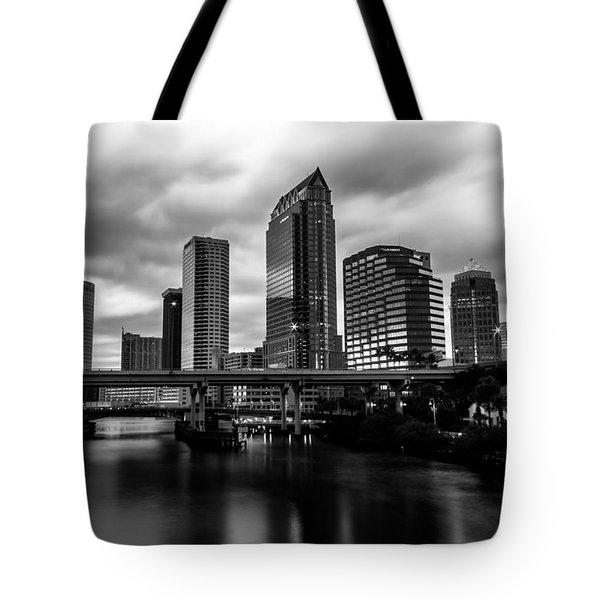 Downtown Tampa Tote Bag