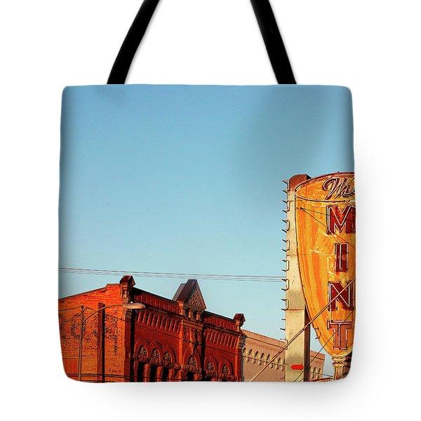 Downtown White Sulphur Springs Tote Bag