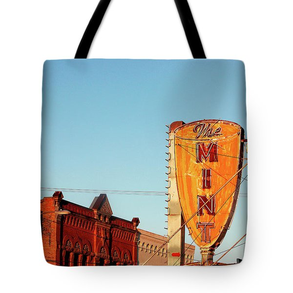 Downtown White Sulphur Springs Tote Bag