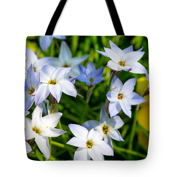 Downtown Wildflowers Tote Bag