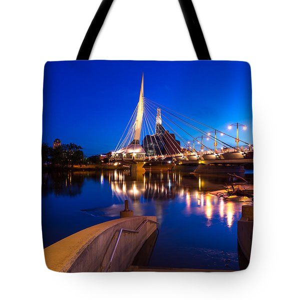 Downtown Winnipeg Tote Bag