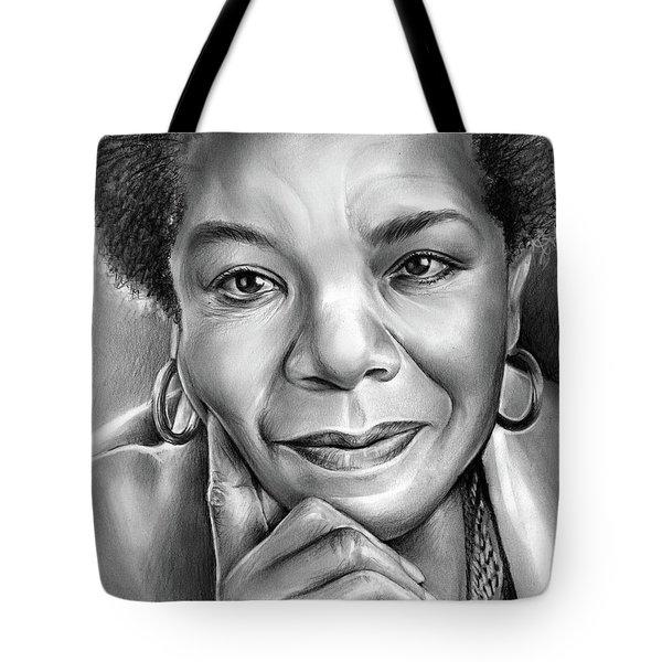 Dr Maya Angelou Tote Bag