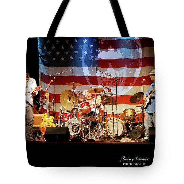 Dr Phil And The Heart Attacks Tote Bag by John Loreaux