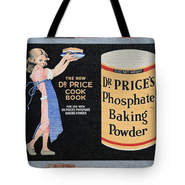 Dr. Prices Phosphate Baking Powder On Brick Tote Bag
