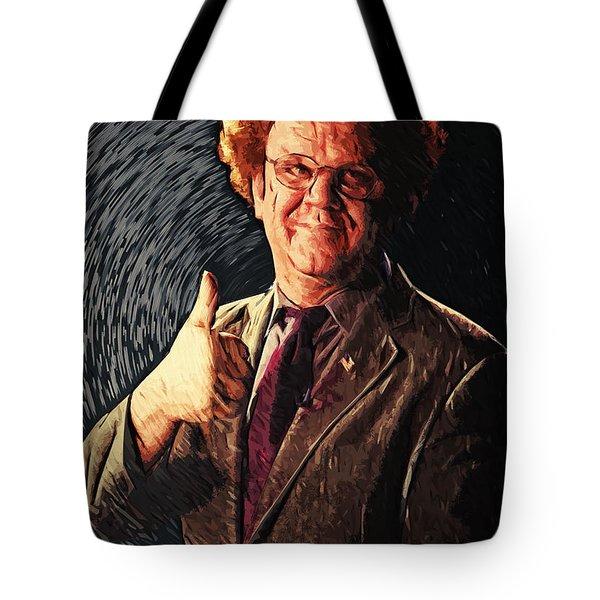 Dr. Steve Brule Tote Bag