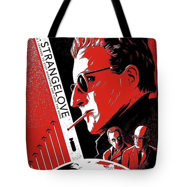 Dr. Strangelove Theatrical Poster Number Three 1964 Tote Bag