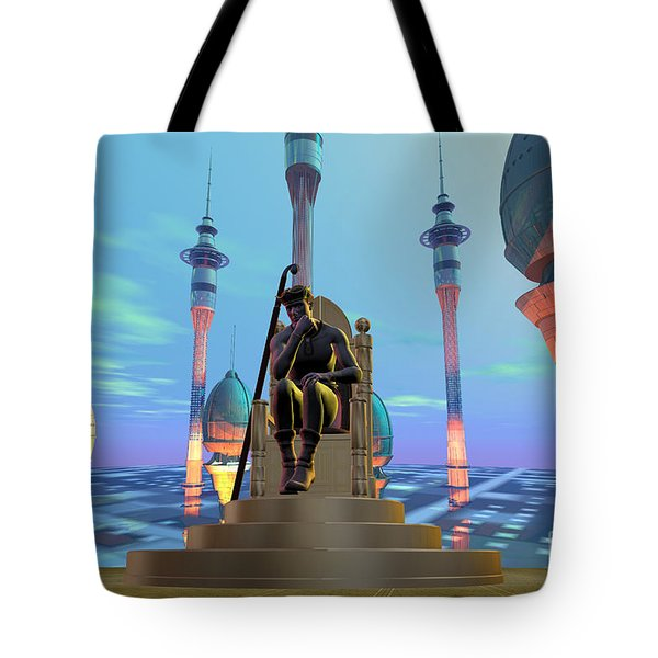 Dracon 5 Tote Bag by Corey Ford