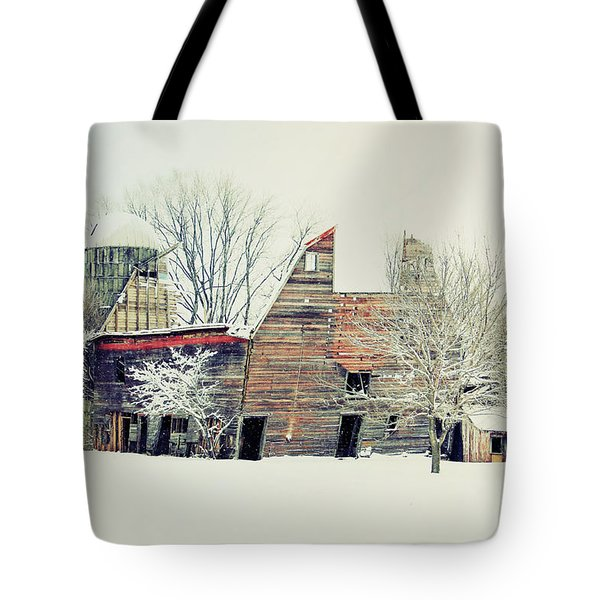 Drafty Old Barn Tote Bag