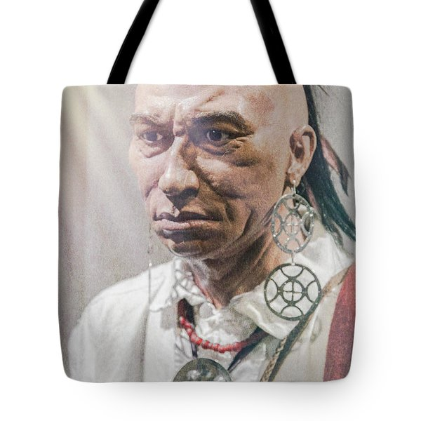 Dragging Canoe Tote Bag