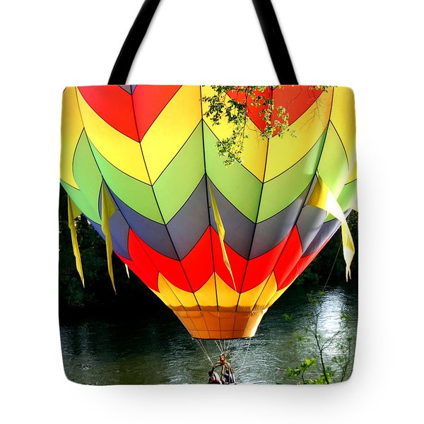 Dragging The Water   Line Tote Bag