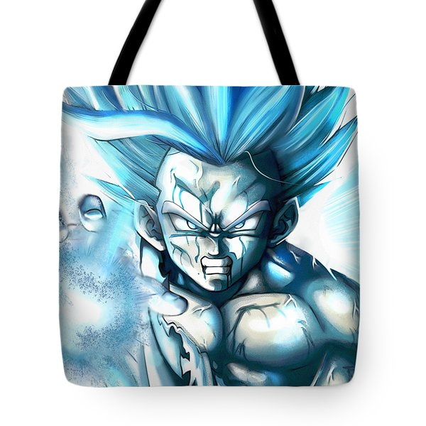 Dragon Ball Z Father Son Kamahamaha Tote Bag