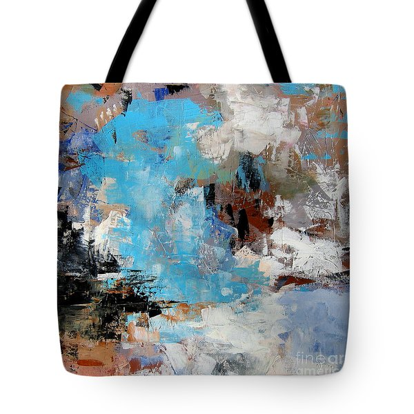 Dragon Bleu Tote Bag