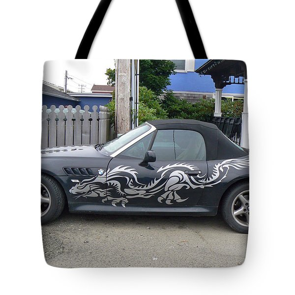 Dragon Bmw Tote Bag by Pamela Patch