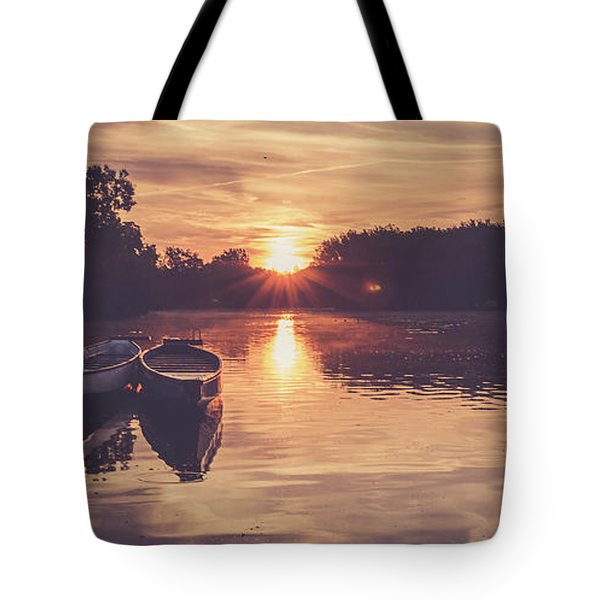 Dragon Boats Tote Bag