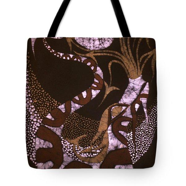 Dragon Breathing Arrows Tote Bag by Carol Law Conklin