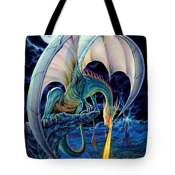 Dragon Causeway Tote Bag