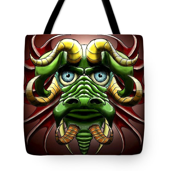 Dragon Cow Tote Bag