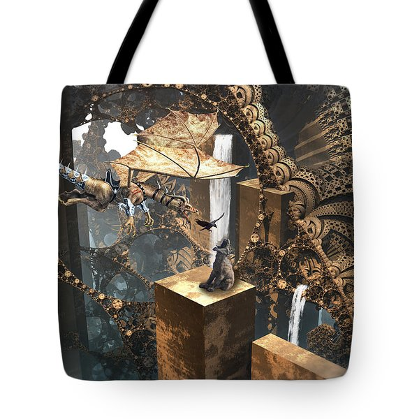 Dragon Dinner Tote Bag