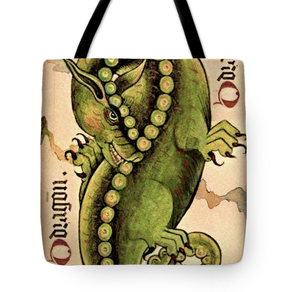 Dragon Dragon Tote Bag