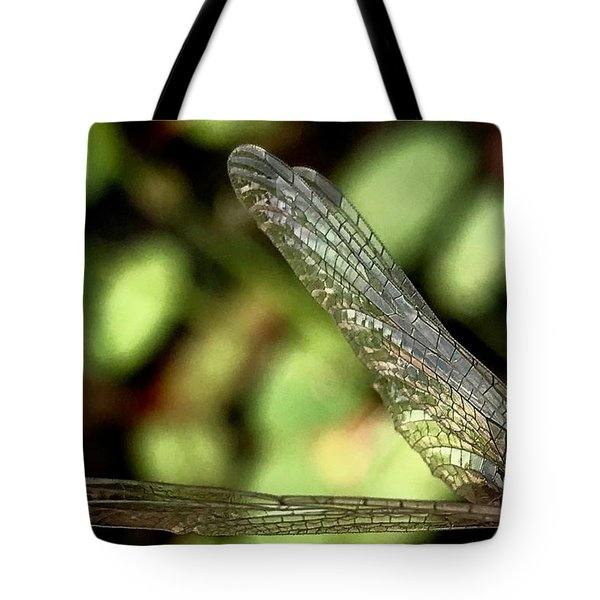 Dragon Fly Wings Tote Bag