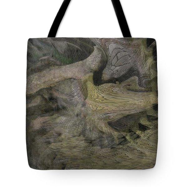 Dragon Fury Tote Bag