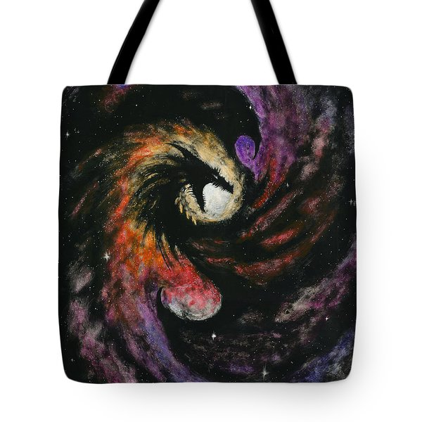 Dragon Galaxy Tote Bag