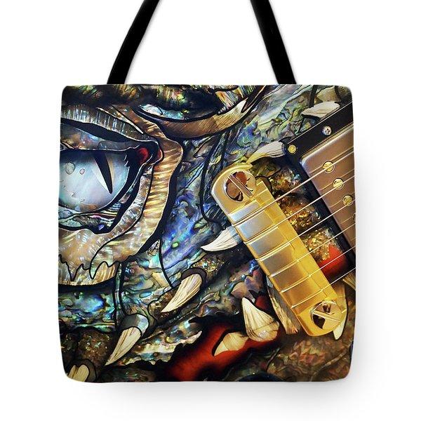 Dragon Guitar Prs Tote Bag