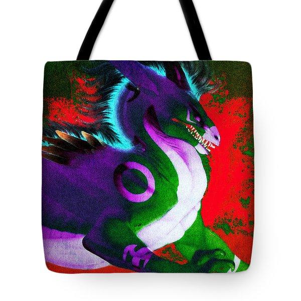 Dragon Lair Tote Bag
