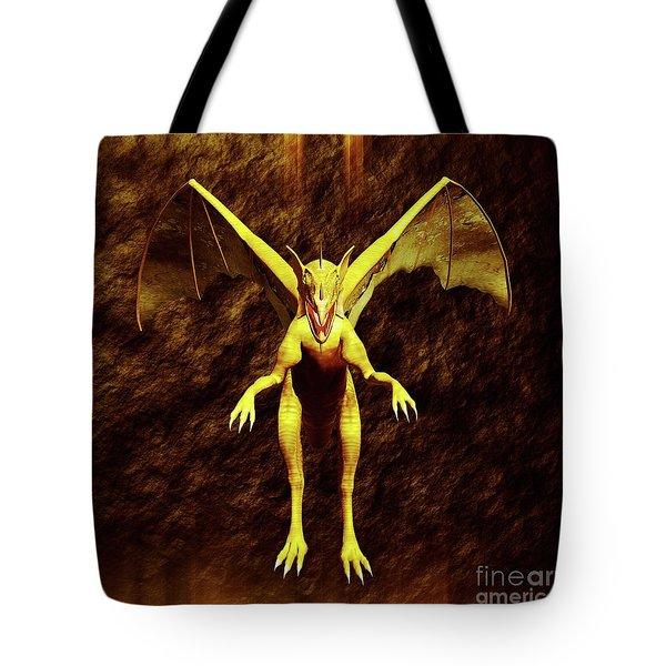 Dragon Lord By Sarah Kirk Tote Bag