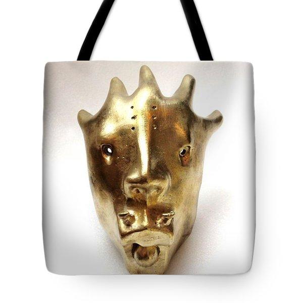 Dragon Mask Tote Bag