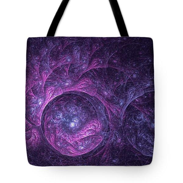 Dragon Nebula Reloaded Tote Bag