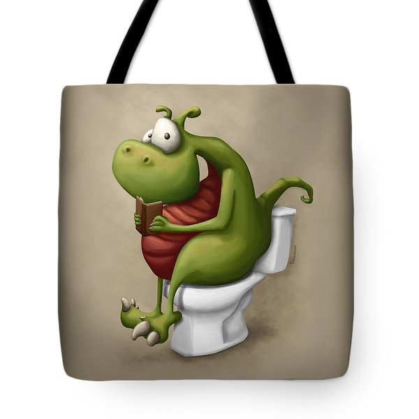 Dragon Number 2 Tote Bag