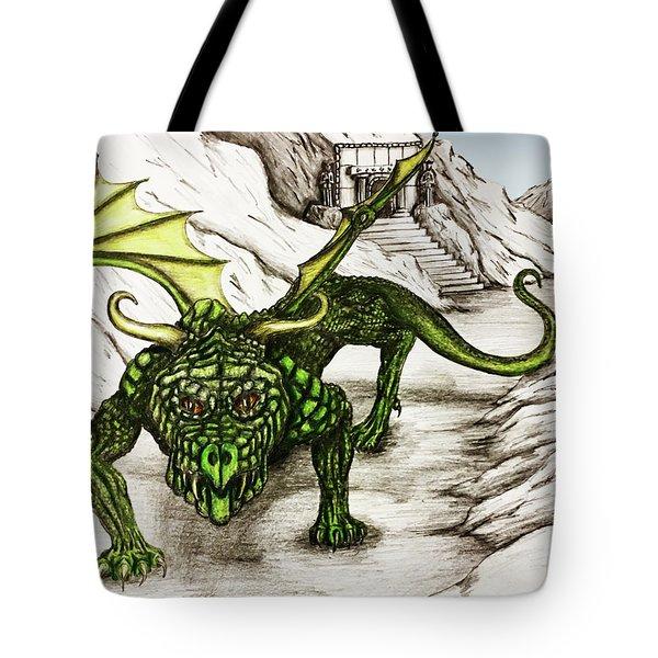 Dragon Pass Tote Bag