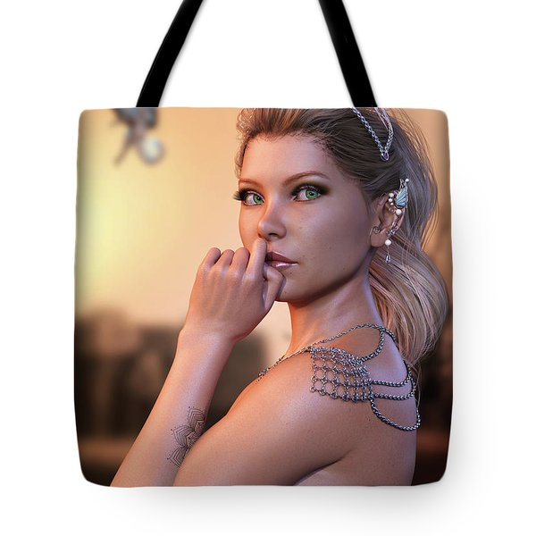 Thoughts Of Dragons Tote Bag